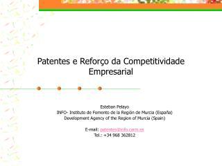 Patentes e Reforço da Competitividade Empresarial