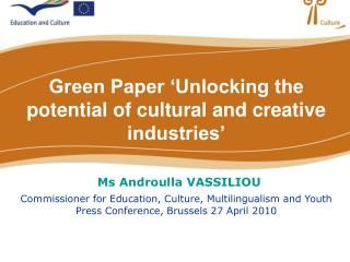 Why a Green Paper now?