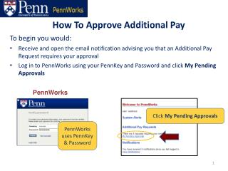 How To Approve Additional Pay