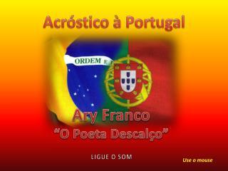 Acróstico à Portugal