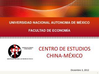 UNIVERSIDAD NACIONAL AUTONOMA DE MÉXICO FACULTAD DE ECONOMÍA