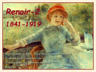 Renoir-2 1841-1919