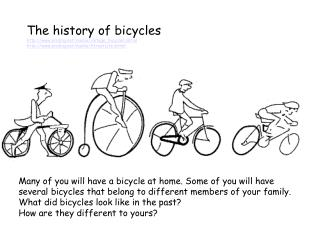 The history of bicycles eriding/media/vintage_bicycles.shtml