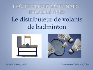 Projet Pluridisciplinaire Encadré (PPE)