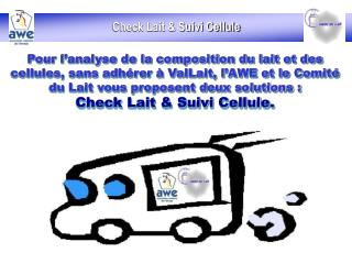 Check Lait & Suivi Cellule