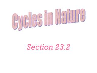 Section 23.2