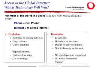 New Service Provider WorldIn Internet Economy