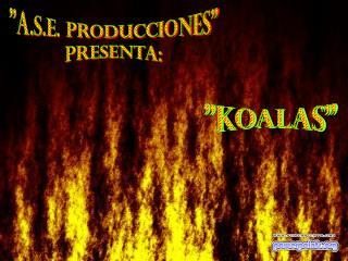 """""""A.S.E. Producciones"""" Presenta:"""
