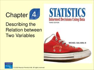 Chapter  Describing the Relation between Two Variables