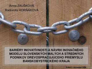 Anna ZAUŠKOVÁ Radomila HORŇÁKOVÁ