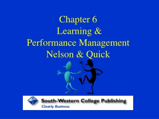 Chapter 6: Conditioning and Learning
