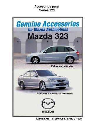 Accesorios para  Series 323