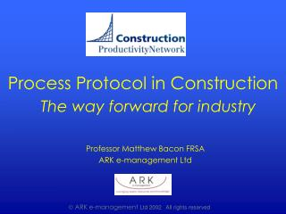 The way forward for industry