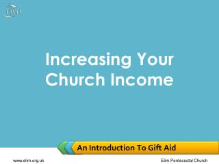 An Introduction To Gift Aid