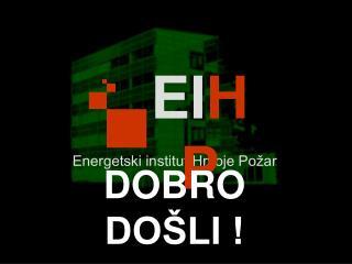 Energetski institut Hrvoje Po�ar