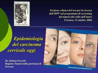 Gestione clinica del test per la ricerca dell'HPV nel programma di screening