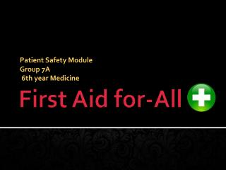 First Aid for-All