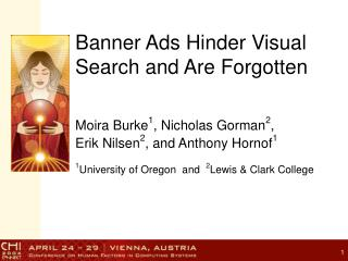 Banner Ads Hinder Visual Search and Are Forgotten