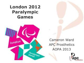 London 2012 Paralympic  Games
