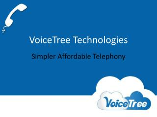Simpler Affordable Telephony