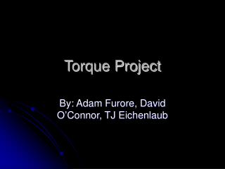 Torque Project