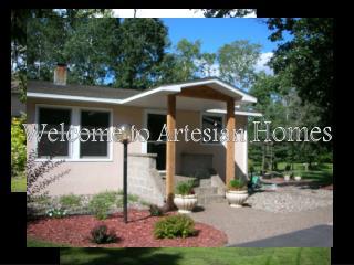 Welcome to Artesian  Homes