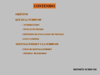 QUE ES LA NCHRP-350