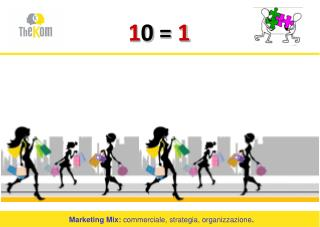 Marketing Mix:  commerciale, strategia, organizzazione .