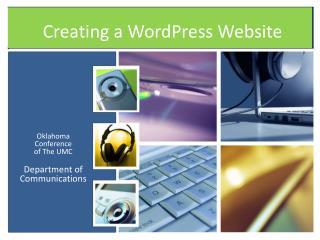 Creating a WordPress Website