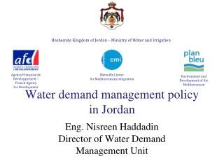 Water  demand  management  policy in Jordan