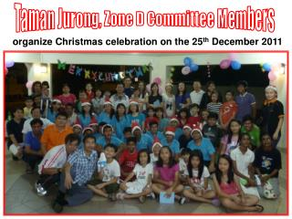 Taman Jurong, Zone D Committee Members