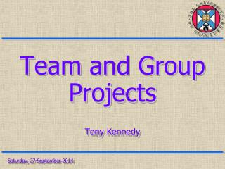 Team and Group Projects