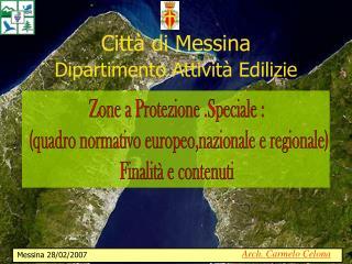 Città di Messina Dipartimento Attività Edilizie