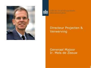 Directeur Projecten & Verwerving