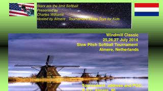 Stars are the limit Softball Presented by  Charles Williams