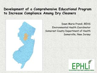 Development of a Comprehensive Educational Program to Increase Compliance Among Dry Cleaners