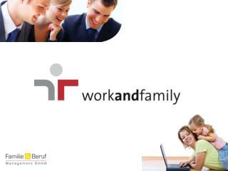 Presentation a udit  workandfamily