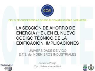 CICLO DE CONFERENCIAS SOBRE AUTOMATIZACIÓN E INGENIERÍA