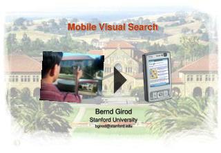 Mobile  Visual Search