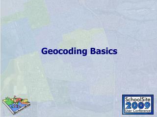 Geocoding Basics