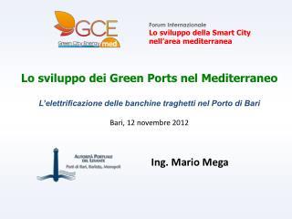 Forum Internazionale  Lo sviluppo della Smart City  nell'area mediterranea