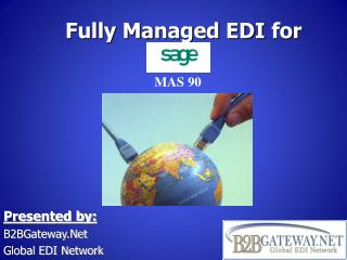 Fully Managed EDI  for