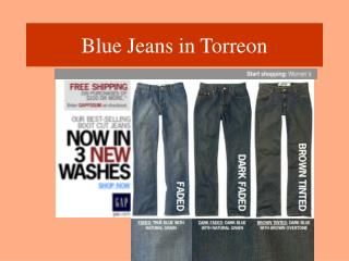 Blue Jeans in Torreon