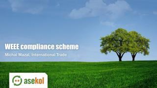 WEEE  compliance scheme