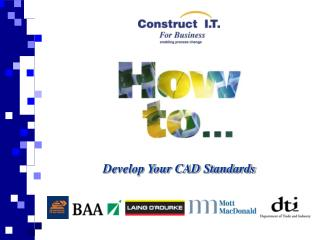Develop Your CAD Standards