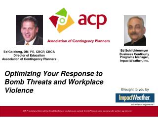 Optimizing Your Response to Bomb Threats and Workplace Violence