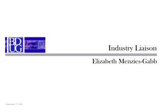 Industry Liaison