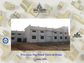 Precision Machined Parts in Brass Since 1988