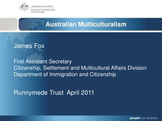 Australian Multiculturalism