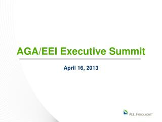 AGA/EEI Executive Summit